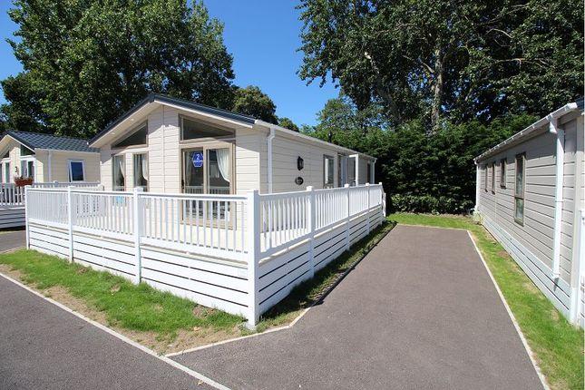 Thumbnail Mobile/park home for sale in Warren Road, Dawlish Warren, Dawlish