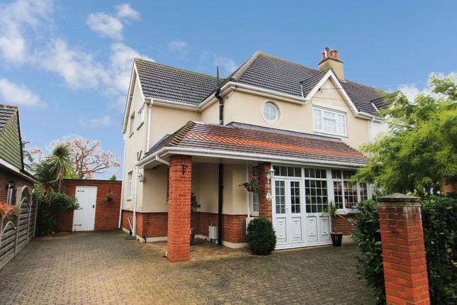 Thumbnail Semi-detached house for sale in Templewood Road, Benfleet