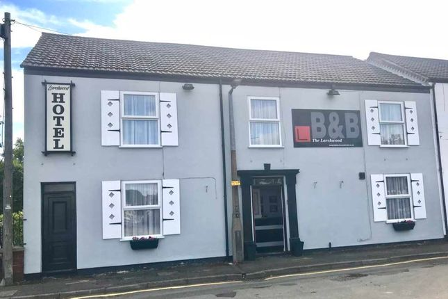 Thumbnail Commercial property for sale in The Larchwood Hotel, 1 - 5 Shelford Street, Scunthorpe