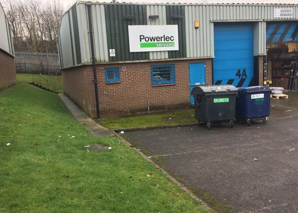 Thumbnail Light industrial to let in Unit 4A, Monk Road Industrial Estate, Alfreton