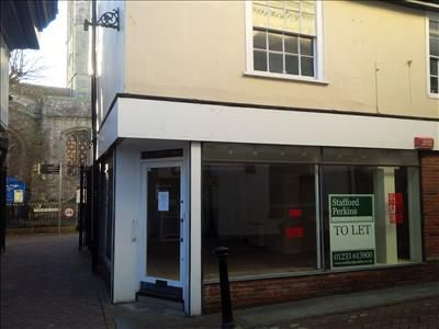 Thumbnail Retail premises to let in 57 High Street, Ashford