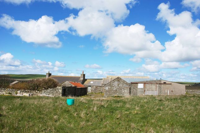 Thumbnail Farmhouse for sale in Miran, Kirbister, Stromness