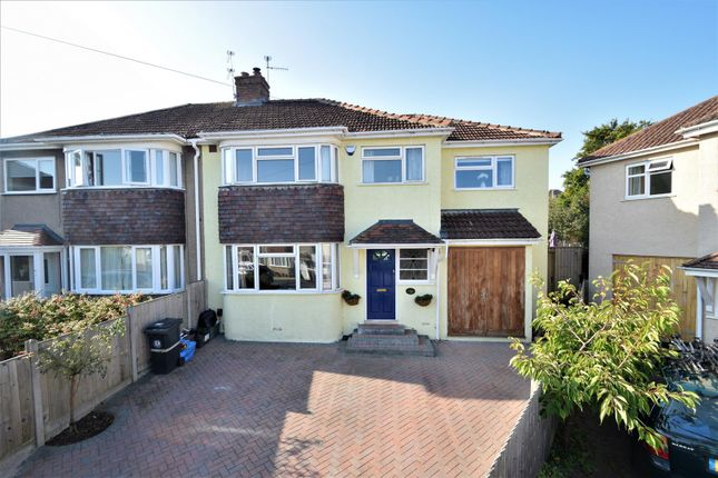 Thumbnail Semi-detached house for sale in Cypress Grove, Henleaze, Bristol