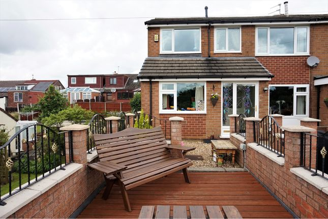 Thumbnail Semi-detached house for sale in Barnfield Road, Hyde