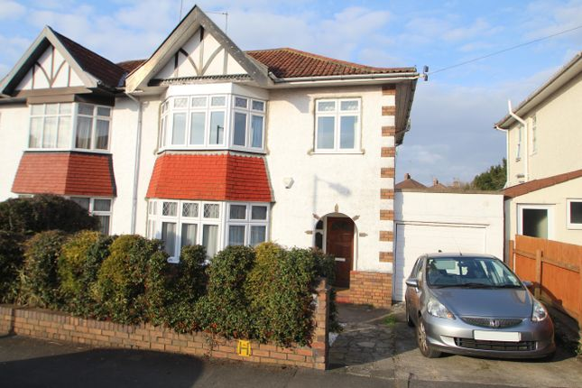 Thumbnail Semi-detached house for sale in Glenwood Road, Westbury On Trym, Bristol