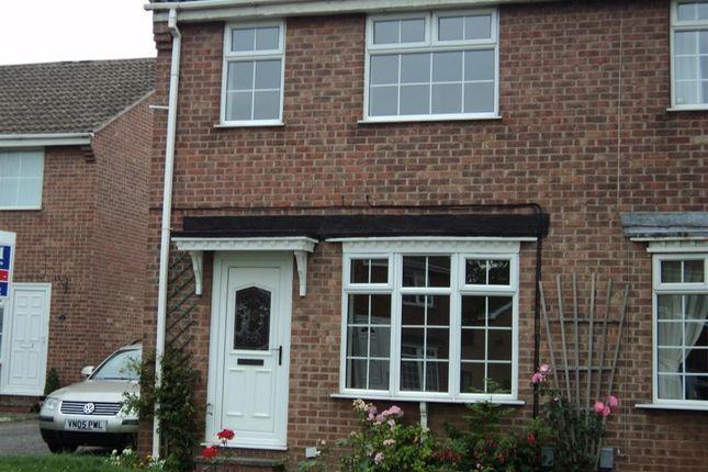 Thumbnail Semi-detached house to rent in Burdock Close, Oakwood, Derby