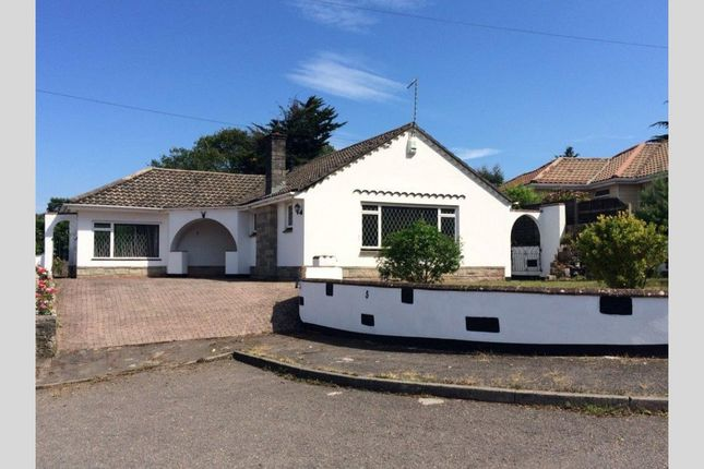 Thumbnail Bungalow for sale in Lagado Close, Canford Cliffs, Poole