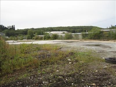 Thumbnail Land to let in Plot 9A Contractors Yard, Tank Farm Road, Llandarcy, Neath