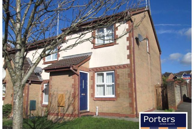 Thumbnail End terrace house to rent in Maes Llan, Kenfig Hill, Bridgend