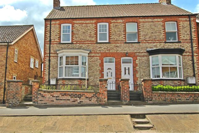 Thumbnail End terrace house for sale in 41 Newbiggin, Malton