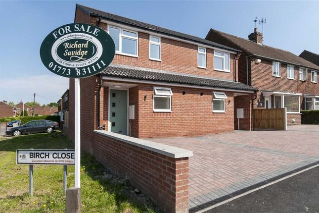 Thumbnail Semi-detached house for sale in Birch Close, Alfreton