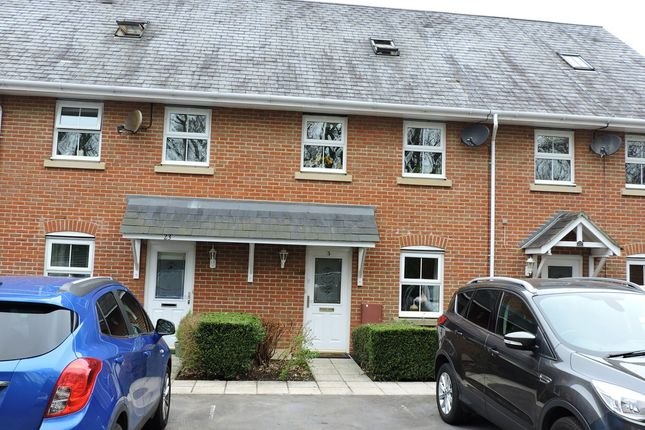Thumbnail Terraced house for sale in Newmans Close, Wimborne