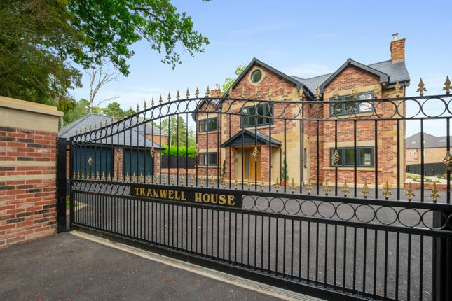 6 bed detached house for sale in Tranwell Woods, Morpeth, Northumberland NE61