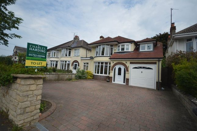 Thumbnail Detached house to rent in Marlborough Road, Swindon