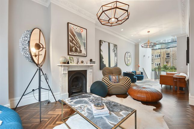 Thumbnail Terraced house to rent in Aynhoe Road, Brook Green, London