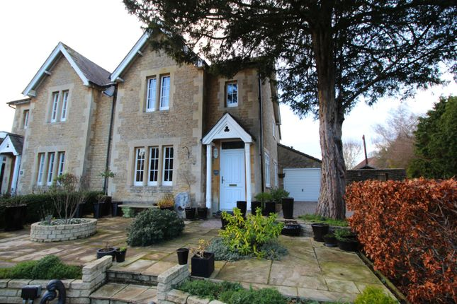 Thumbnail Semi-detached house for sale in Pew Hill, Chippenham