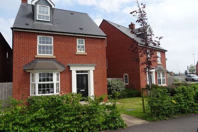 Thumbnail Detached house for sale in Hawkins Road, Pinhoe, Exeter