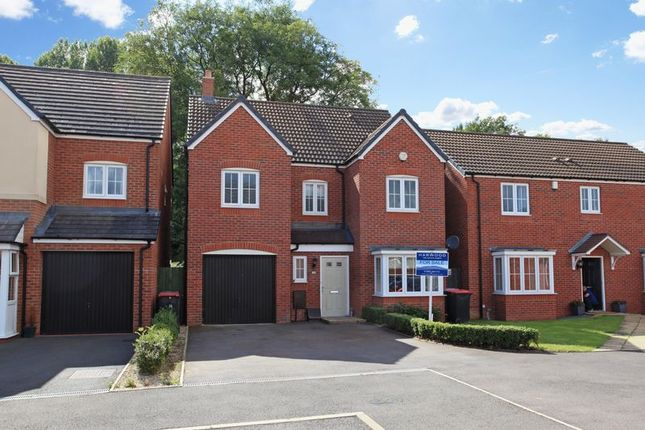 Thumbnail Detached house to rent in Park Court, Hadley, Telford