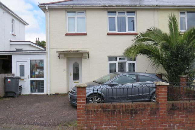 Thumbnail Semi-detached house for sale in Wills Avenue, Preston, Paignton