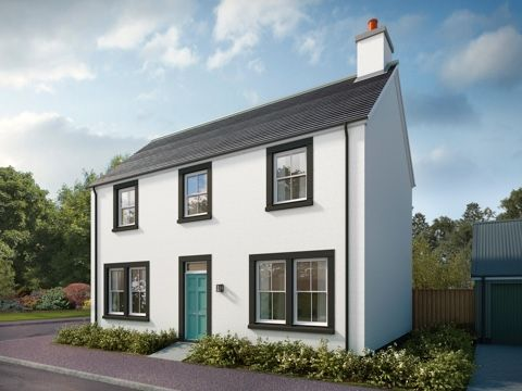 Thumbnail Detached house for sale in Dalcross, Inverness IV2, Inverness,