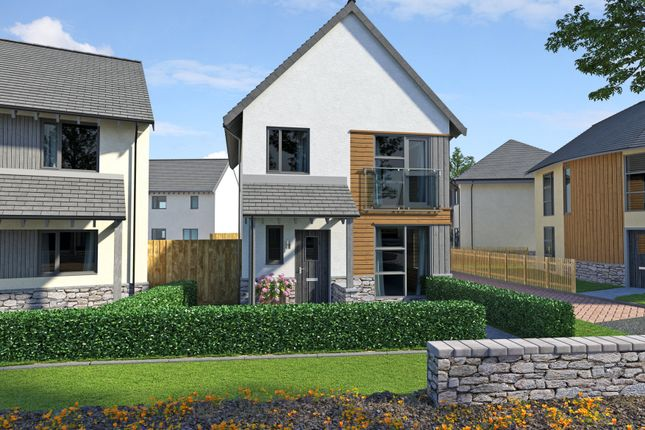 Thumbnail End terrace house for sale in Plot 27, Yarners Mill, Dartington, Devon