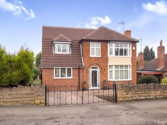 Thumbnail Detached house for sale in Rolleston Drive, Arnold, Nottingham, Nottinghamshire