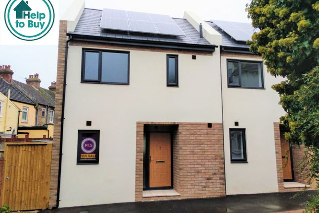 Thumbnail End terrace house for sale in Buckler Street, Portslade