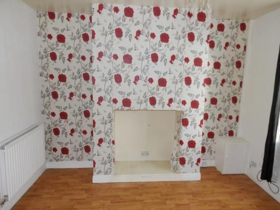 Lounge of Reginald Road, St Helens, Merseyside, Uk WA9