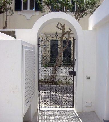 Entrance of Via Marina Piccola, Capri, Naples, Campania, Italy