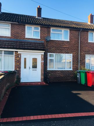 Thumbnail End terrace house to rent in Calbroke Road, Slough