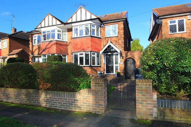 Thumbnail Semi-detached house for sale in Stewards Green Road, Epping, Essex