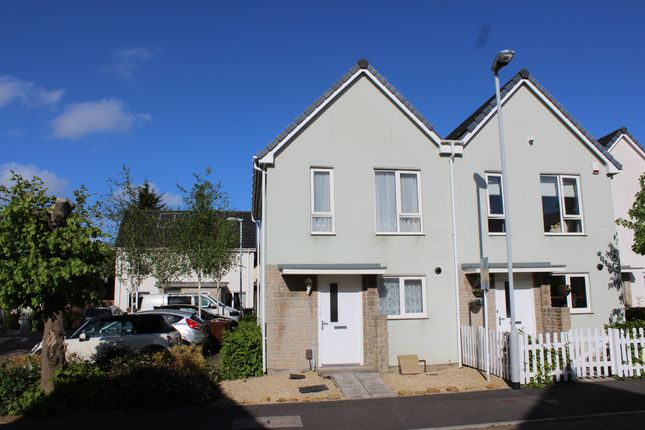 Thumbnail Semi-detached house for sale in Yellowmead Road, Plymouth