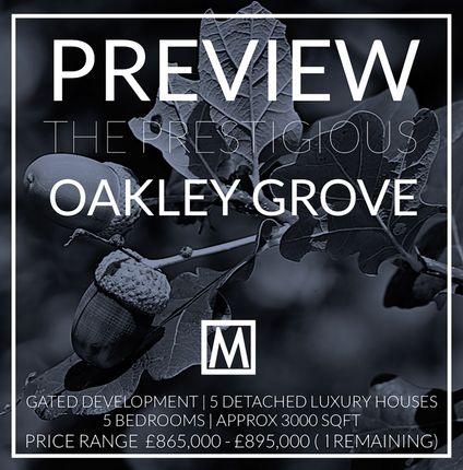 Thumbnail Detached house for sale in Oakley Grove, Cuttinglye Lane, Crawley Down