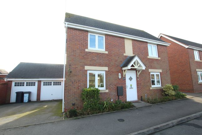 Thumbnail Detached house for sale in The Leys, Bedworth