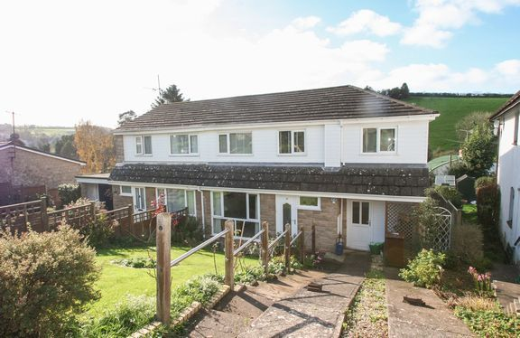 Thumbnail Semi-detached house for sale in Bourchier Close, Bampton, Tiverton