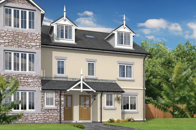 Thumbnail Semi-detached house for sale in Langdale Kents Bank Road, Grange-Over-Sands