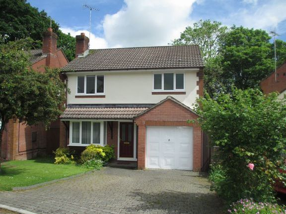 Thumbnail Detached house to rent in Moor Park, Honiton