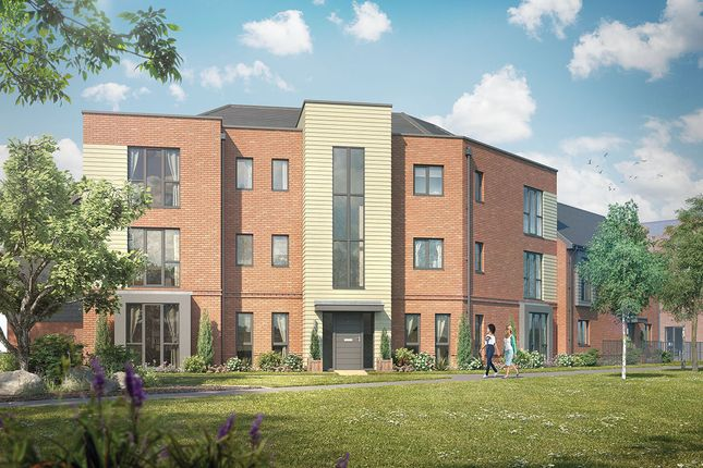 Thumbnail Flat for sale in Plot 4 - The Abbeywood, Crowthorne