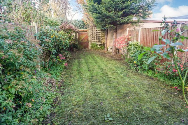 Garden of Pirrie Road, Liverpool L9