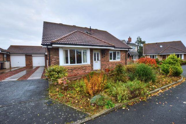 Thumbnail Detached bungalow for sale in Byers Close, Belford, Northumberland
