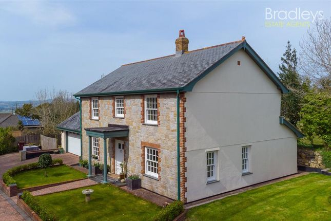 Thumbnail Detached house for sale in Perran Downs, Goldsithney, Penzance, Cornwall