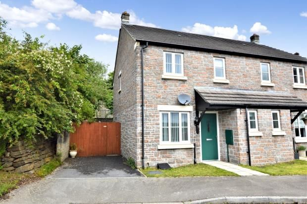 Thumbnail 2 bed semi-detached house for sale in Chestnut Close, Pillmere, Saltash, Cornwall