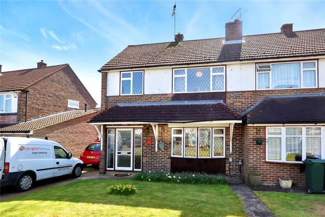 Thumbnail Semi-detached house for sale in Follet Drive, Abbots Langley