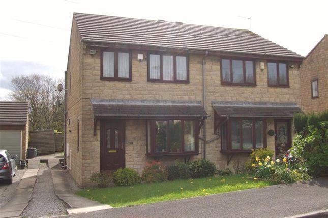 Thumbnail Semi-detached house for sale in Bentley Mount, Sowerby Bridge