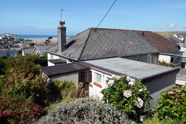 Thumbnail Semi-detached bungalow for sale in Trevalga Close, Perranporth