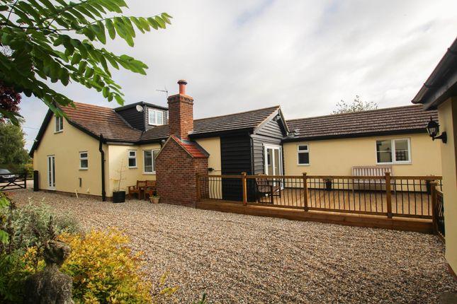 Thumbnail Detached bungalow for sale in Wicken Road, Clavering, Saffron Walden