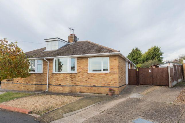 Thumbnail Semi-detached bungalow for sale in Knightlands Road, Irthlingborough, Wellingborough