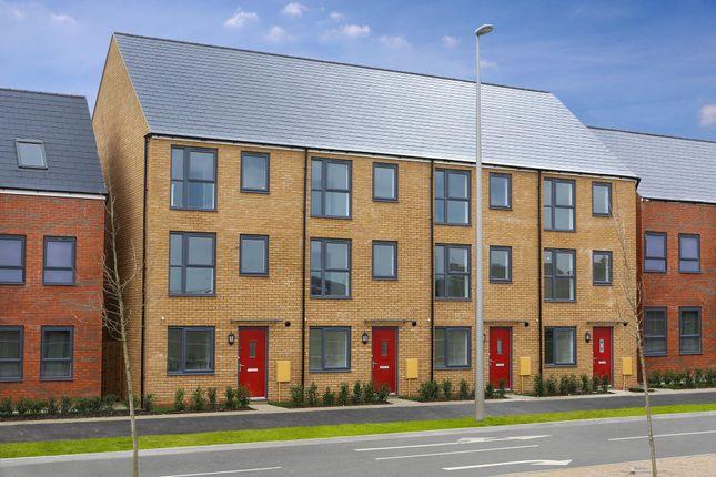 "End terrace house for sale in ""Faversham"" at Fen Street, Brooklands, Milton Keynes"