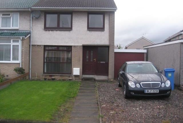 Thumbnail Semi-detached house to rent in Greyfriars Walk, Inverkeithing