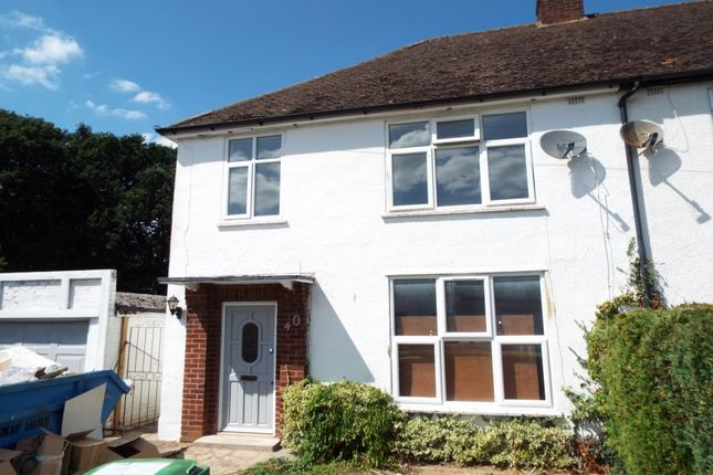 Thumbnail Semi-detached house to rent in Glenavon Gardens, Langley, Slough